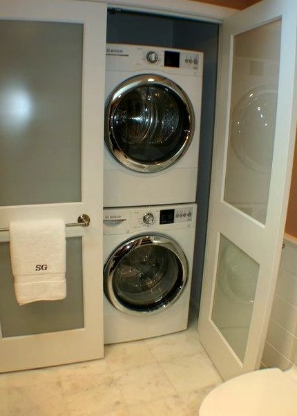 Master Bath Laundry